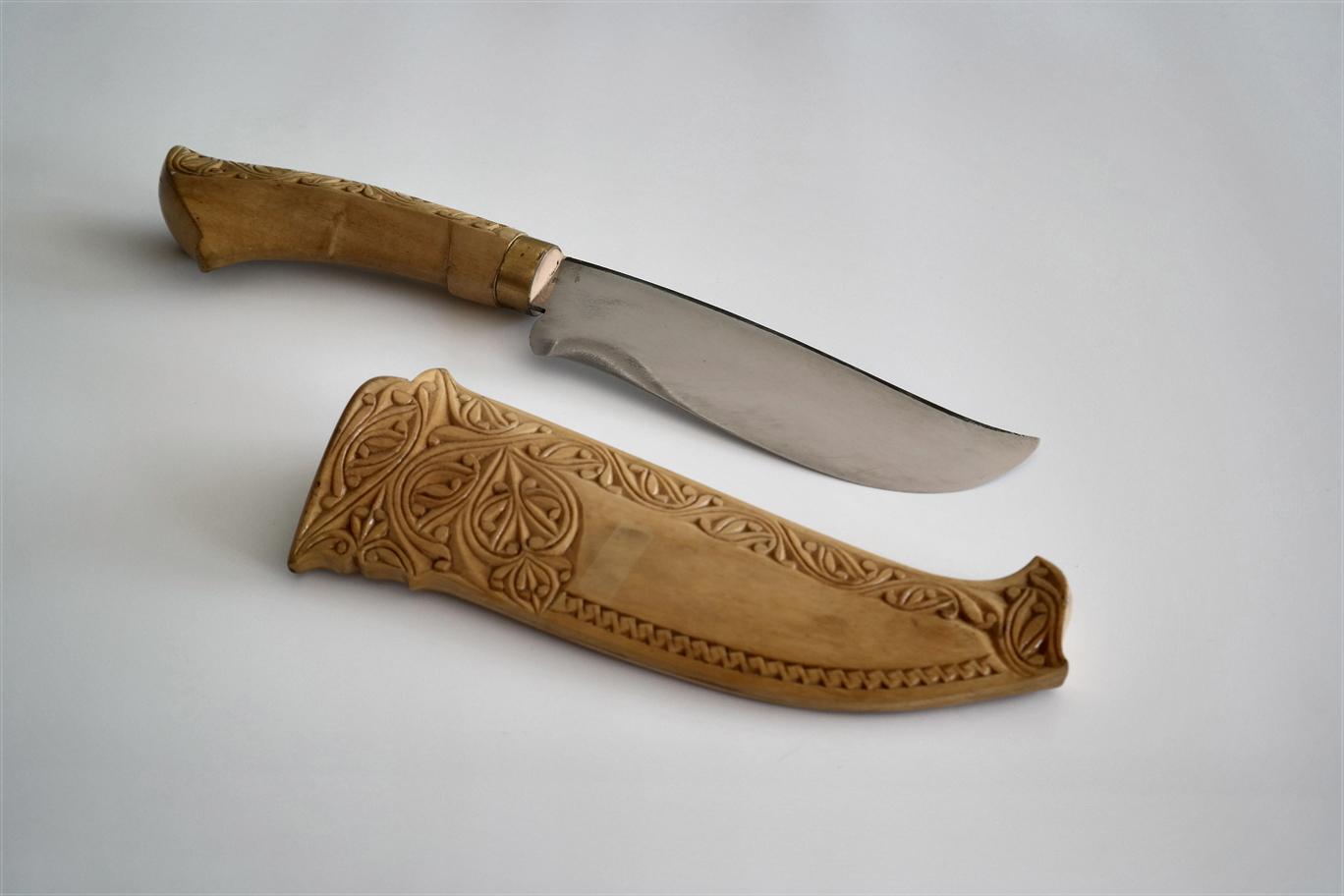 5 inch kayu kari cutlery chef knife kitchen knives. Black Bedroom Furniture Sets. Home Design Ideas